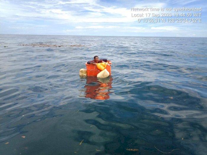 Kuasa Tuhan, Nelayan Ini Selamat Terdampar 4 Hari di Tengah Laut, Mengapung dalam Box Ikan