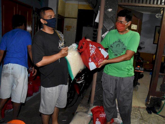 FOTO: Penyaluran Bansos Tahap Ke-7 di Jakarta