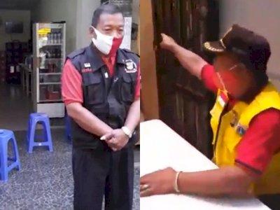 Petugas PSBB yang Ngotot Ingin Makan di Warung Bakso Minta Maaf, Mengaku Khilaf
