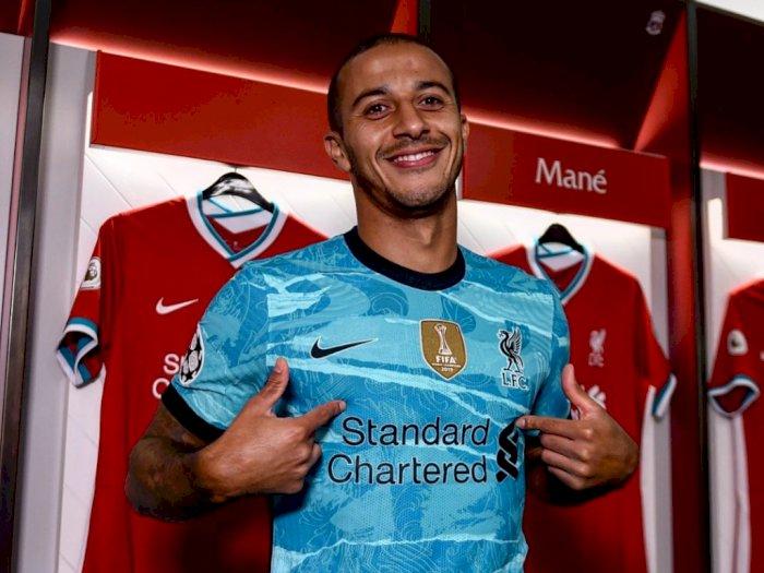 Liverpool Resmi Tanda Tangan Kontrak dengan Thiago Alcantara