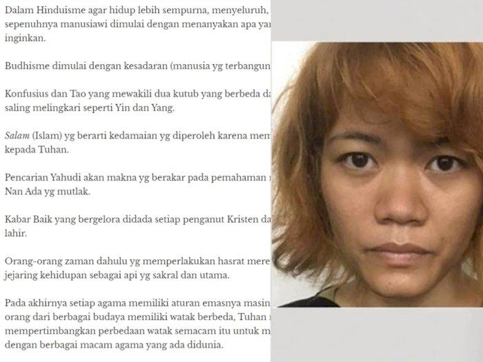 Wanita Pelaku Mutilasi di Kalibata City, Pernah Bicara Soal Tuhan dan Surga, Ini Katanya