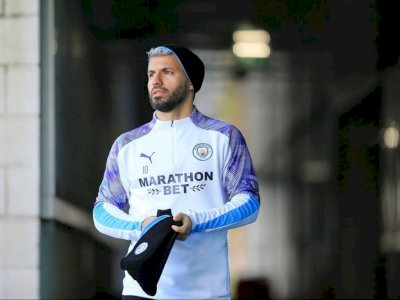 Aguero Cedera Lagi, Guardiola: Mungkin Butuh 1-2 Bulan untuk Pulih