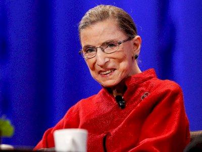 FOTO: Hakim Mahkamah Agung AS, Ruth Bader Ginsburg Tutup Usia