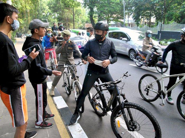 FOTO: Penutupan Sementara Pedestrian Kebun Raya Bogor