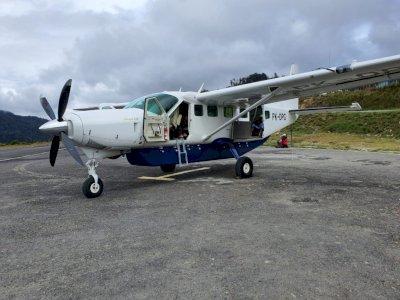 Pesawat Dabi Air Ditembak KKB di Intan Jaya Papua