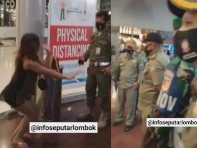Wanita Seksi Berbaju Transparan Dihukum di Mal, Polisi-TNI-Satpol PP Nonton Tanpa Berkedip