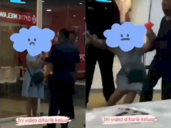 Viral Jeritan Perempuan saat Diseret Satpam Diduga karena Menolak Pakai Masker