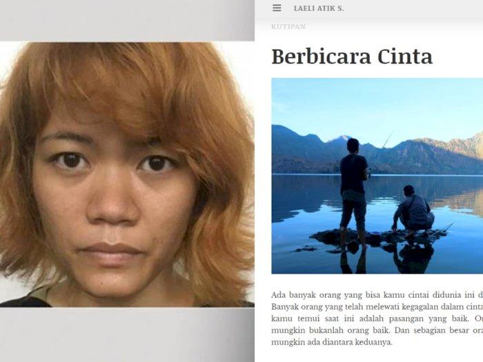 Wanita Pelaku Mutilasi di Kalibata City Punya Blog Pribadi, Pernah Menulis tentang Cinta