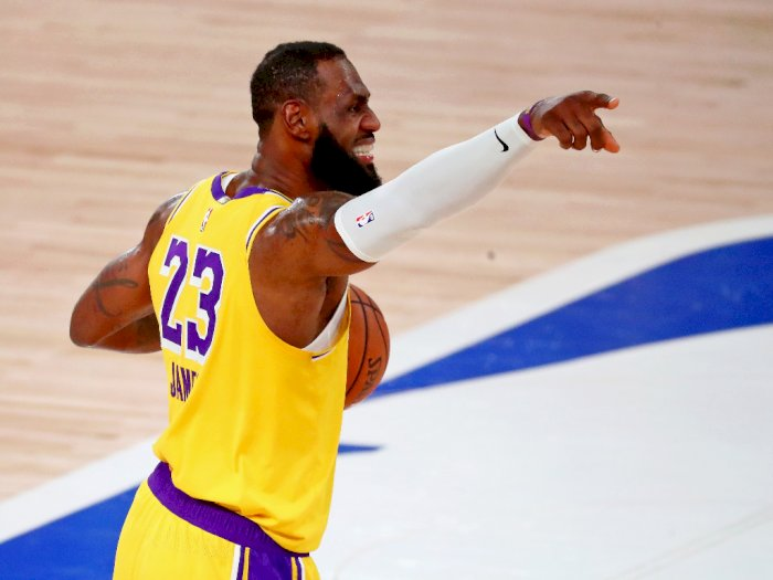 FOTO: Lakers Mendominasi Nuggets 126-114 di Game 1 Final Wilayah Barat