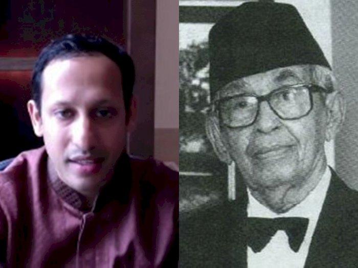 Komitmennya untuk Sejarah Indonesia Diragukan, Nadiem Makarim Ungkit Nama Besar Kakek