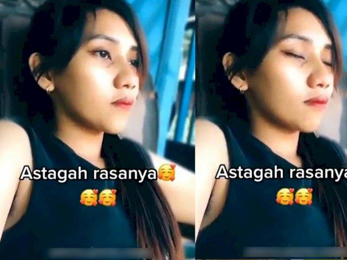 Video Cewek Mengkhayal Dipeluk Cowok Ganteng, Netizen Malah Fokus pada Bulu Ketiaknya