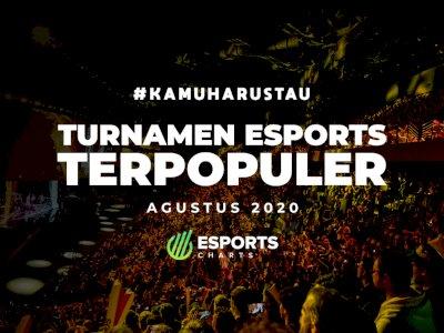 5 Turnamen Esports Paling Populer di Bulan Agustus 2020!