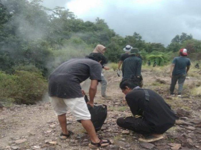 Peduli Lingkungan, 2 Ton Sampah Berhasil Dikumpulkan Pemuda Tapanuli Selatan