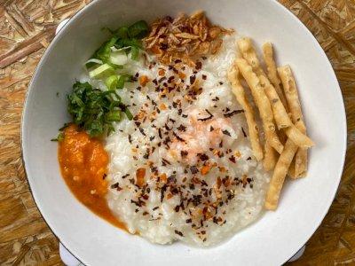 Resep Bubur Nasi Udang untuk Sarapan Pagi Keluarga Sehat