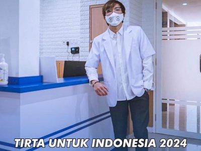 Dokter Tirta Umumkan Maju Jadi Presiden 2024, Katanya: Yang Penting Maju Dulu
