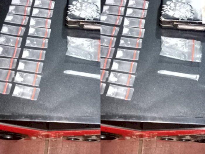 Lama Jadi Buronan Narkoba, Pria Ini Akhirnya Ditangkap saat Simpan Sabu Dalam Box Speaker