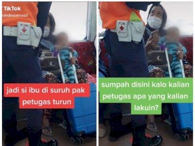 Viral Petugas Minta Seorang Ibu Turun dari KRL karena Anaknya Tak Pakai Masker