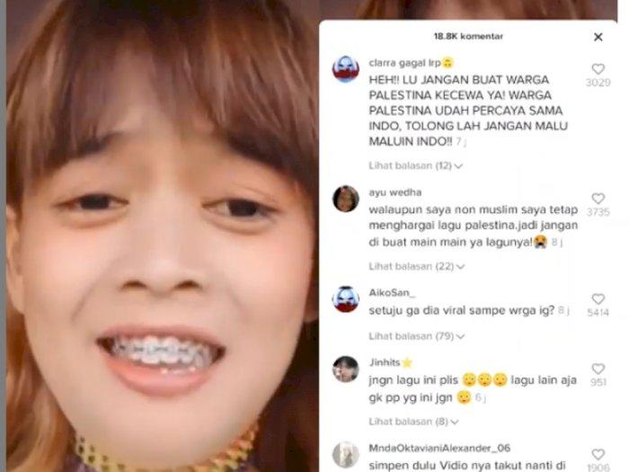 Viral Cewek Bikin Konten Tiktok Nyanyi Lagu 'Atouna El Toufoule', Habis Dihujat Netizen