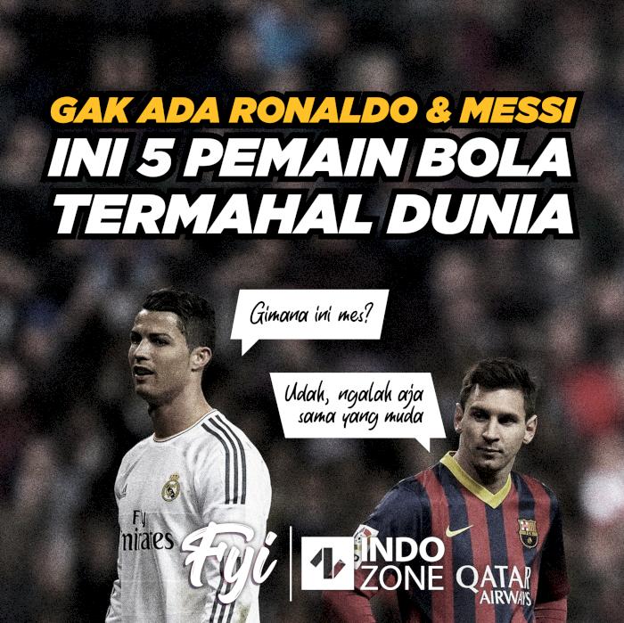 Gak Ada Ronaldo & Messi, Ini 5 Pemain Bola Termahal Dunia