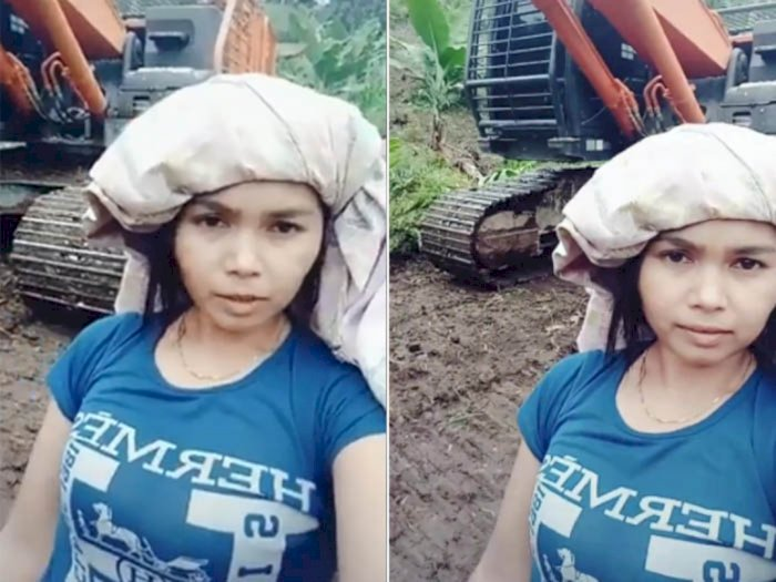 Wanita Ini Ngaku Kaya Pamer Alat Berat Baru Beli Rp 24 Miliar, Terbongkar Kondisi Rumahnya