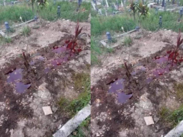 Hii! Viral Kuburan Mengeluarkan Darah dan Berbau Amis, di Sini Lokasinya
