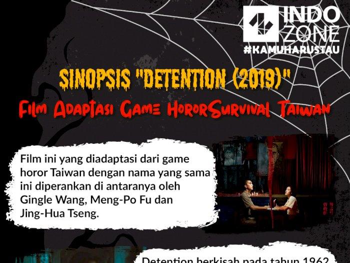 "Sinopsis ""Detention (2019)"" - Film Adaptasi Game Horor Survival Taiwan"