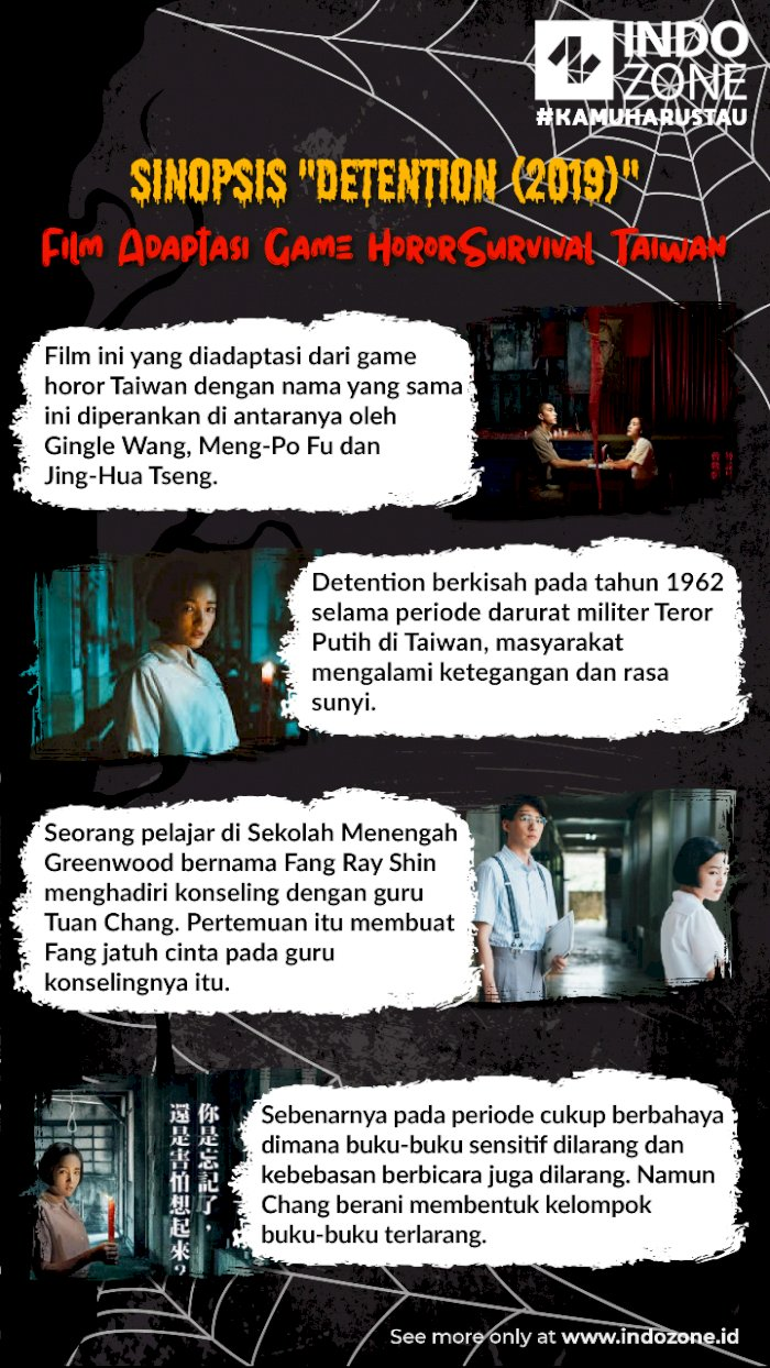 "Sinopsis ""Detention (2019)"" - Film Adaptasi Game Horor Survival Taiwan"
