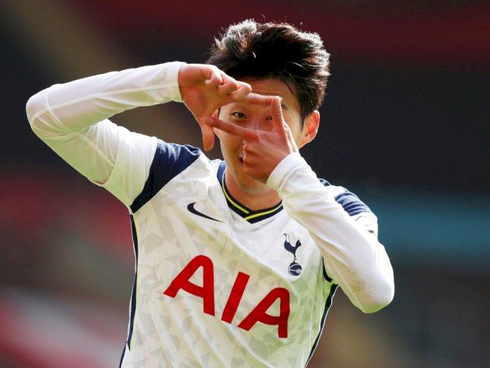 FOTO: Heung-Min Son Mencetak 4 Gol saat Tottenham Mengalahkan Southampton 5-2