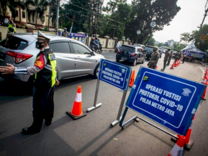 Sepekan Operasi Yustisi di Jakarta: 46.134 Pelanggar Ditindak