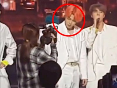 Aksi Jimin BTS Tatap Tajam Kameramen Wanita sampai Gerogi, Netizen: Mbaknya Ambyar