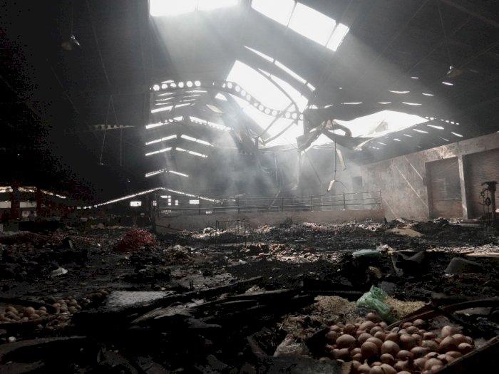 FOTO: Kebakaran Pasar Wage Purwokerto