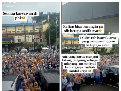 Viral Semua Karyawan Saksikan Pengumuman PHK Massal, Netizen Ikutan Sedih