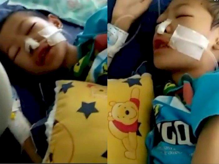 Ajaib! Bocah Ini Terus Lantunkan Ayat-ayat Al Quran Meski Tak Sadarkan Diri Akibat Sakit