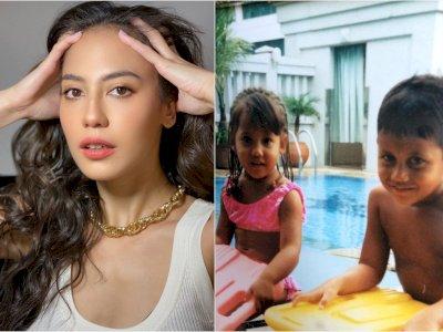Pevita Pearce Unggah Foto Lawas Bareng Kakak, Netizen Sebut Kayak Anak Kembar