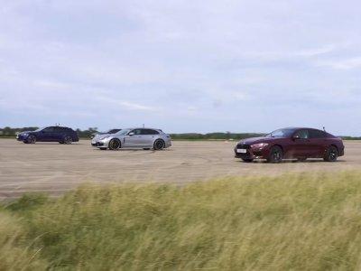 BMW M8 vs Audi RS6 vs Mercedes E63 S vs Porsche Panamera, Siapa Lebih Cepat?
