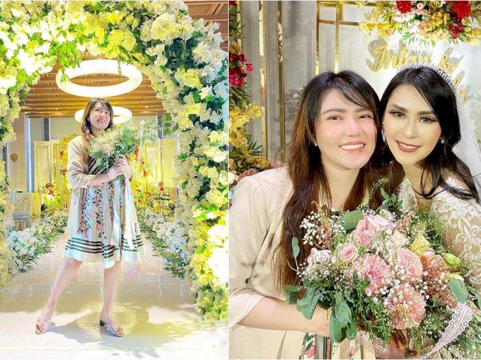 Ingin Segera Menikah, Via Vallen Sampai Bawa Bunga yang Dilempar Pengantin: Biar Ketularan
