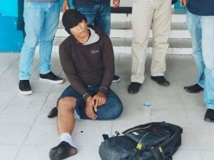 Sabu dari Medan Disimpan di Dalam Anus, Kurir Narkoba Ini Terciduk di Bandara Kalimantan