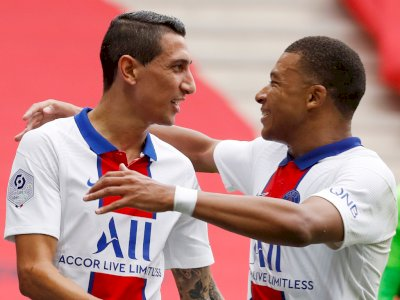 FOTO: Liga Prancis: PSG Taklukkan Nice 3-0