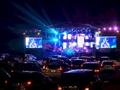 FOTO: Konser Drive-in di Yogyakarta