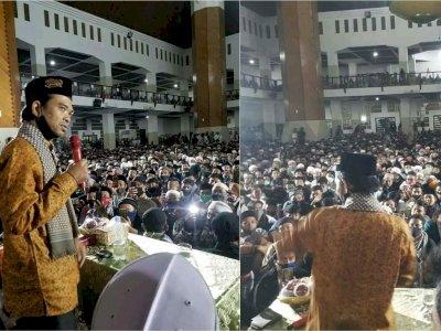 UAS Gelar Dakwah Dihadiri Kerumunan Ribuan Orang, Denny Siregar Bilang Begini