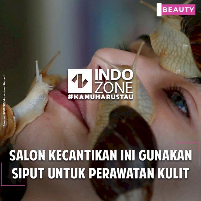 Salon Kecantikan ini Gunakan Siput Untuk Perawatan Kulit