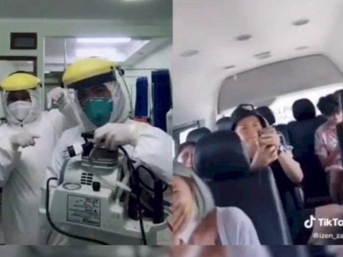 Viral Video Cowok Liburan Langgar Protokol Kesehatan, Tenaga Medis Sindir: Ditunggu di UGD