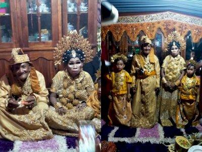 Viral Pernikahan Sejoli Lansia, Pacaran 40 Tahun sejak 1980, Ternyata Ini Fakta Sebenarnya