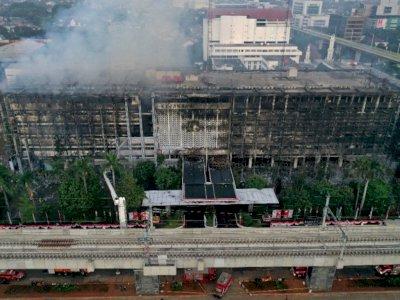 Kasus Kebakaran Kejagung, CCTV di Lokasi Banyak yang Terbakar