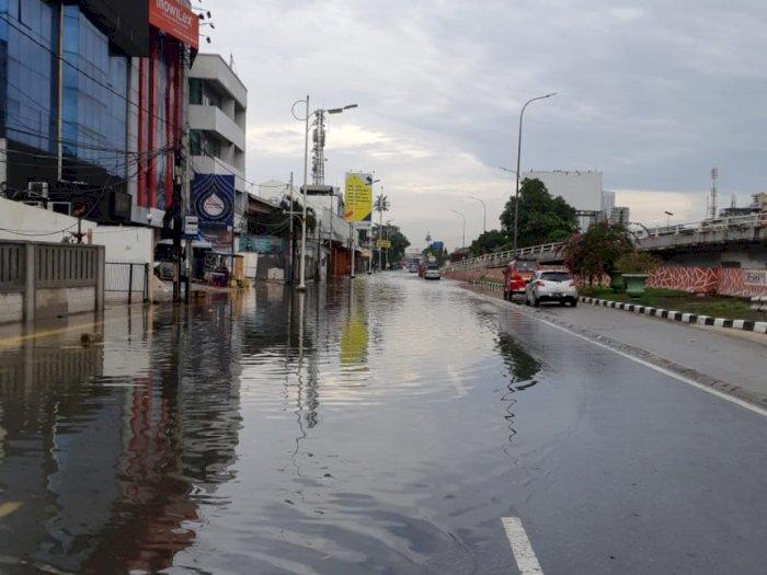 Imbas Hujan Deras Semalam, 49 RT dan 23 Jalan di Jakarta Terendam Banjir Pagi Ini