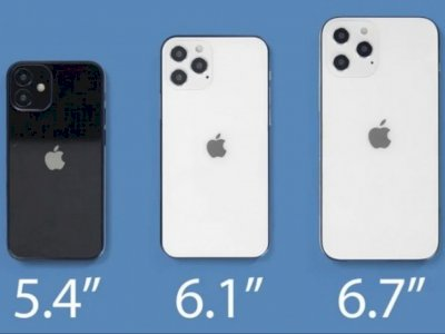 Apple Hadirkan Varian Baru di iPhone Yakni iPhone 12 Mini