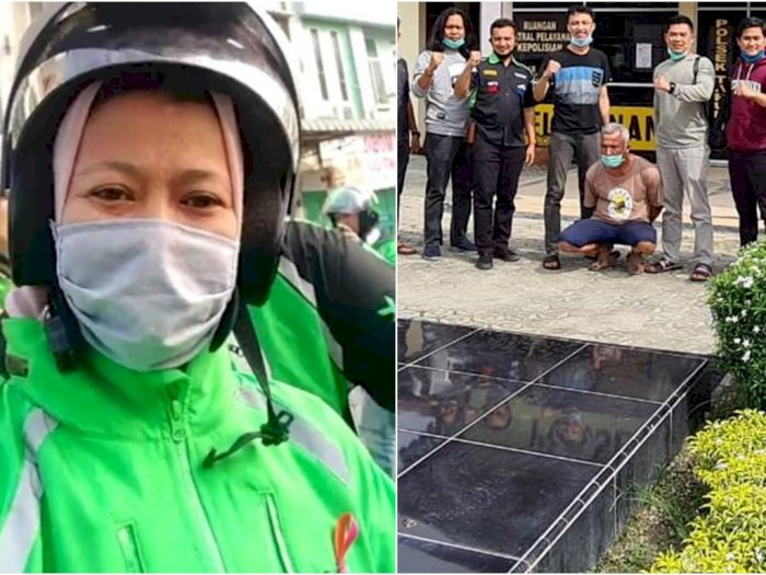 Pembunuh Wanita Driver Ojol Ibu 3 Anak Ditangkap di Riau, Ternyata Suami Siri