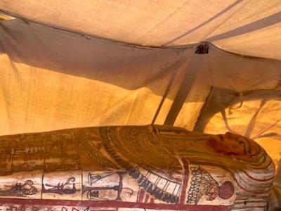 Penemuan 27 Peti Mati Berusia Lebih dari 2500 Tahun di Mesir