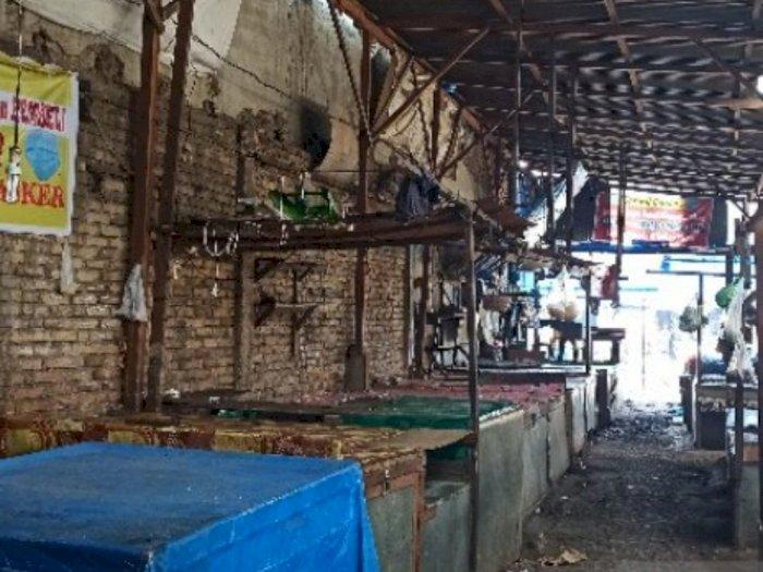 Pedagang Meninggal karena Covid-19, Pajak Melati Tutup Sementara