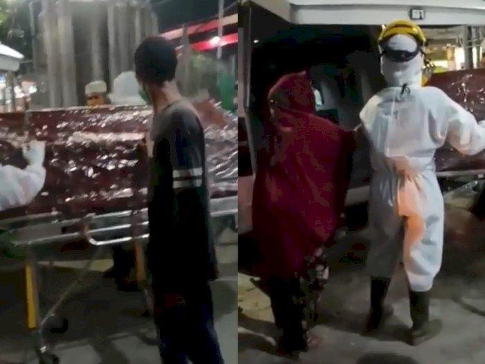 Beredar Video Warga di Medan Marah-marah Tolak Ibunya Dikubur dengan Protokol Covid-19